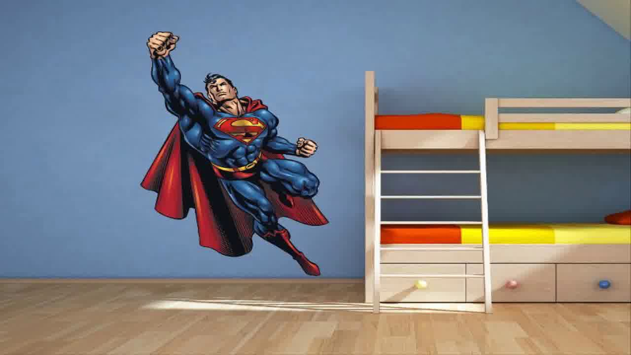Superman Bedroom Decorating Ideas Youtube