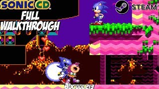 Sonic CD Gameplay Full Walkthrough Longplay (Sega CD) - Steam