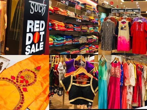 தமிழில் SOCH SHOPPING VLOG / SOCH RED DOT SALE 2018
