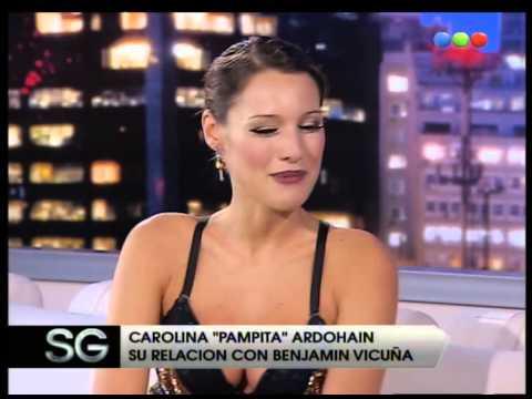 Carolina Pampita Ardohain, parte 02 - Susana Gimenez 2007