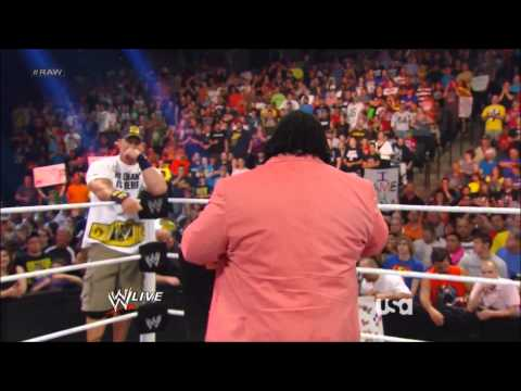 Mark Henry Retirement 6-17-13 Monday Night Raw