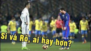 Sự KHÁC BIỆT đẳng cấp giữa Messi với Ronaldo ► Xem xong khéo thành fan MESSI =)) ⚽ Hài Bóng Đá ⚽