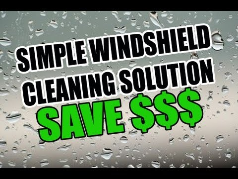 Windshield Cleaning Solution