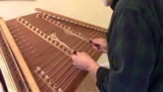 Planxty Irwin (Captain John Irwin) on hammered dulcimer by Timothy Seaman