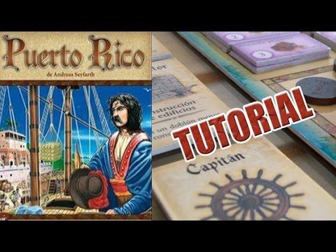 Puerto Rico - Tutorial Como se juega