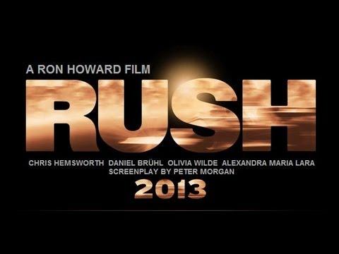 RUSH  HD   Dir. Ron Howard. Chris Hemsworth, Daniel Bruhl, Olivia Wilde