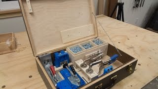 Custom Fitted Case for the Kreg Pocket Hole Jig