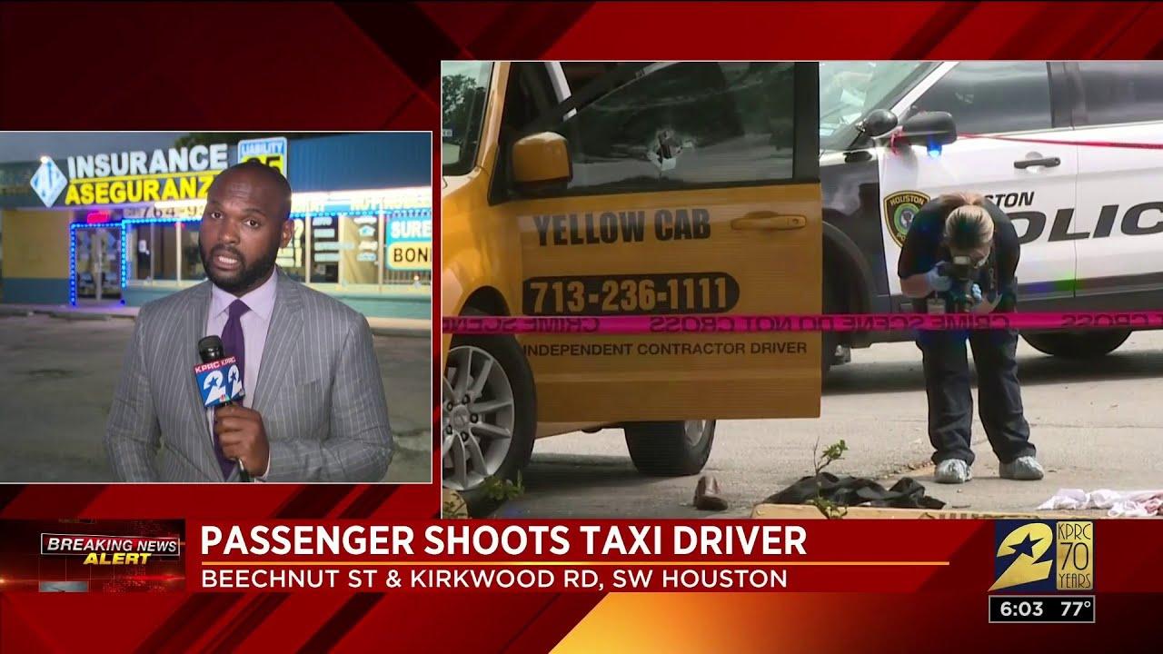 Argument over cab fare leaves cab driver shot