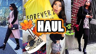 HAUL OTOÑO 🍂 NYC FALL OUTFITS 2018 | Forever21, Zaful, Amazon, SheIn | AbrilDoesMakeup ♡