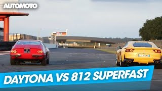 Duel : la Ferrari Daytona vs la Ferrari 812 Superfast