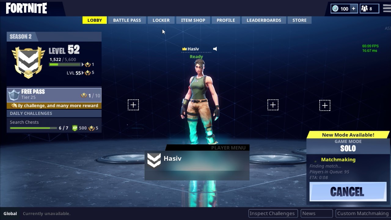 Matchmaking temporarily unavailable fortnite