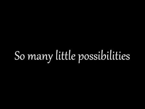 Freddie Stroma - Possibilities (lyrics on screen)