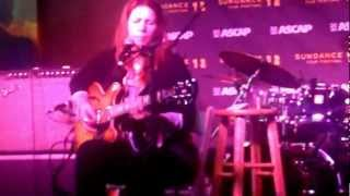 "Dayna Kurtz LIVE at SUNDANCE 2012 ASCAP Music cafe ""Love  Gets in the Way"""