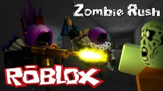 THEY WANT TO EAT US!!!!!!! ROBLOX ZOMBIE RUSH