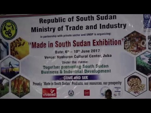Made in South Sudan exhibition kicks off in Juba