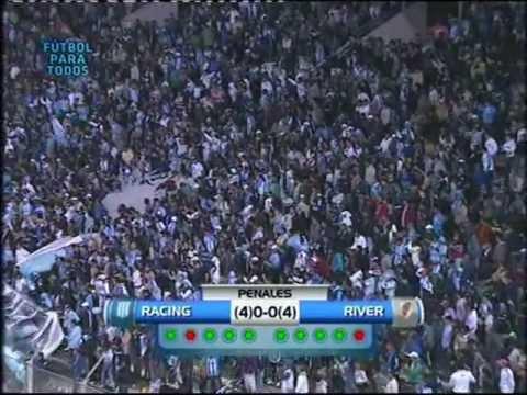 Resumen Penales - River 0 - 0 Racing - Copa Argentina