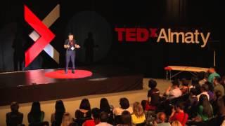 Marat Zhylanbayev at TEDxAlmaty