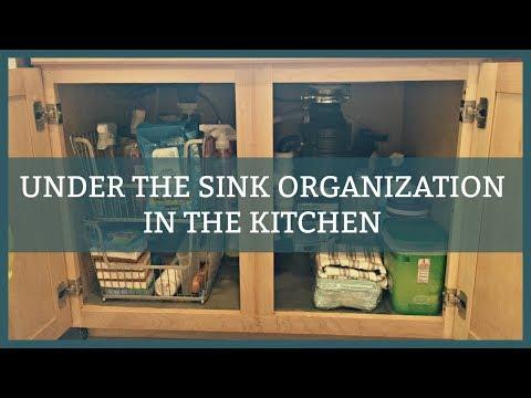 under-the-sink-organizing-|-in-the-kitchen
