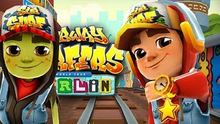 SUBWAY SURFERS GAMEPLAY PC HD - BERLIN - JAKE STAR OUTFIT+ZOMBIE JAKE AND 80 MYSTERY BOXES OPENING