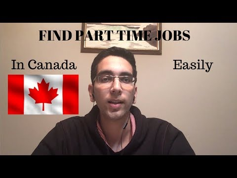 Find Part-Time Jobs In Canada Easily | VLOG