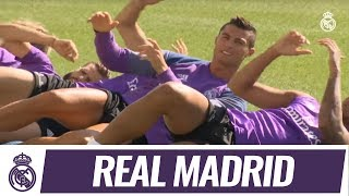 💪 Real Madrid train alongside Castilla