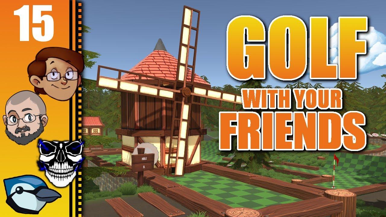 Let's Play Golf With Your Friends Part 15 - Sprinktu Skylands