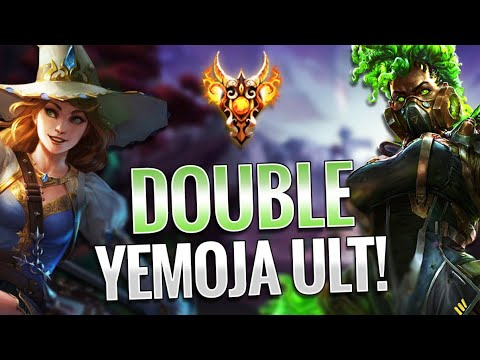 DOUBLE YEMOJA ULT IS UNBEATABLE IN RANKED JOUST!! Smite