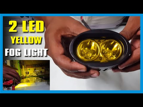 Xtreme 2 Cree LED 20w Yellow Color Off Road, DRL, Bar Light, Auxiliary SUV Fog Light