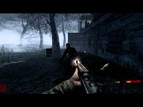 Cod WaW/Black Ops - Outside Nacht Der Untoten Zombie Glitch Moon