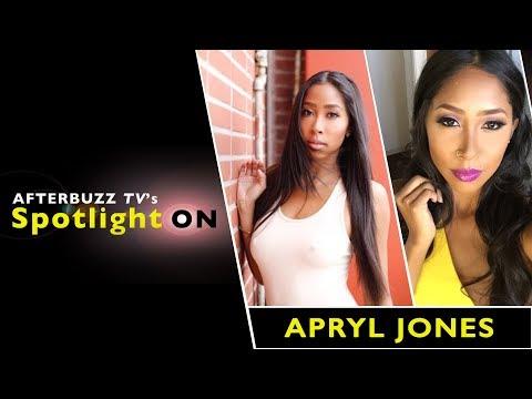 Apryl Jones   AfterBuzz TV's Spotlight On