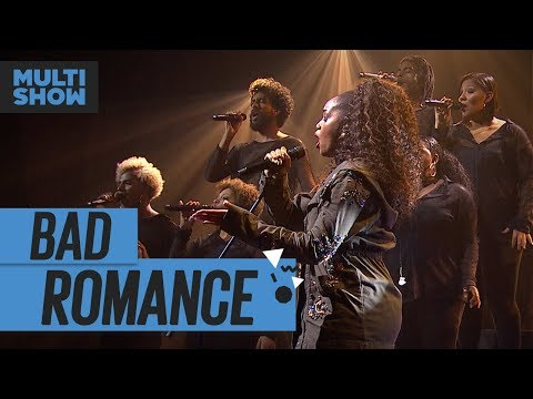 Bad Romance   Iza   Música Boa Ao Vivo   Música Multishow