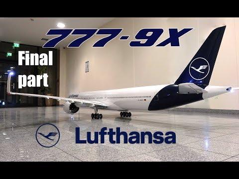 BOEING 777-9X Lufthansa new livery/ FINAL
