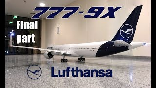 BOEING 777-9X Lufthansa new livery/RC airliner build video FINAL