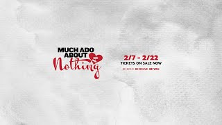 "Booth Tarkington Civic Theatre presents: ""Much Ado About Nothing"""