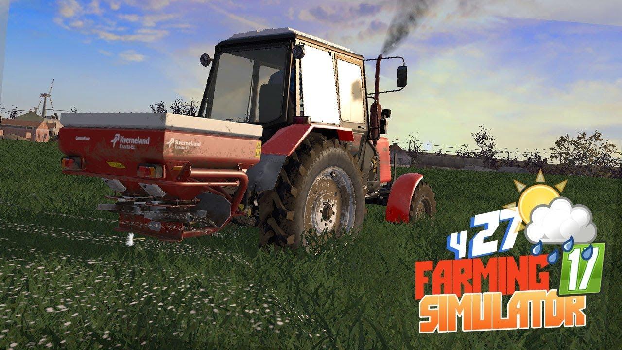 Farming Simulator 17 - Первые работы в поле на МТЗ Начинаем строительство ГИГА-ПАСЕКИ! серия 27 FS17