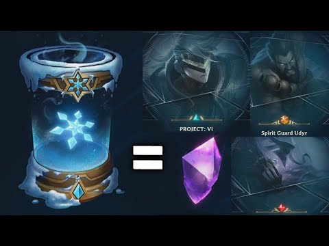 The BEST Loot Capsules ever? SNOWDOWN 2017 + GIVEAWAY (League of Legends)