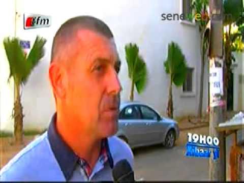 Bruno Ferri Coach Dakar Sacre Coeur sur le Match Senegal Vs Cote D'ivoir