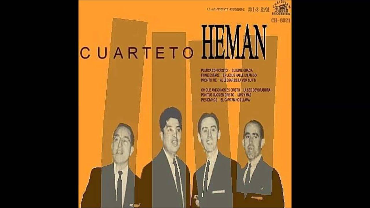 Cuarteto Heman - 04 En Jesús halle un amigo