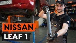 Wie NISSAN LEAF Lagerung Radlagergehäuse auswechseln - Tutorial