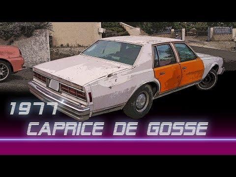 Chevrolet caprice 77' - Rénovation EP01 - Projet ''DIE HARD''