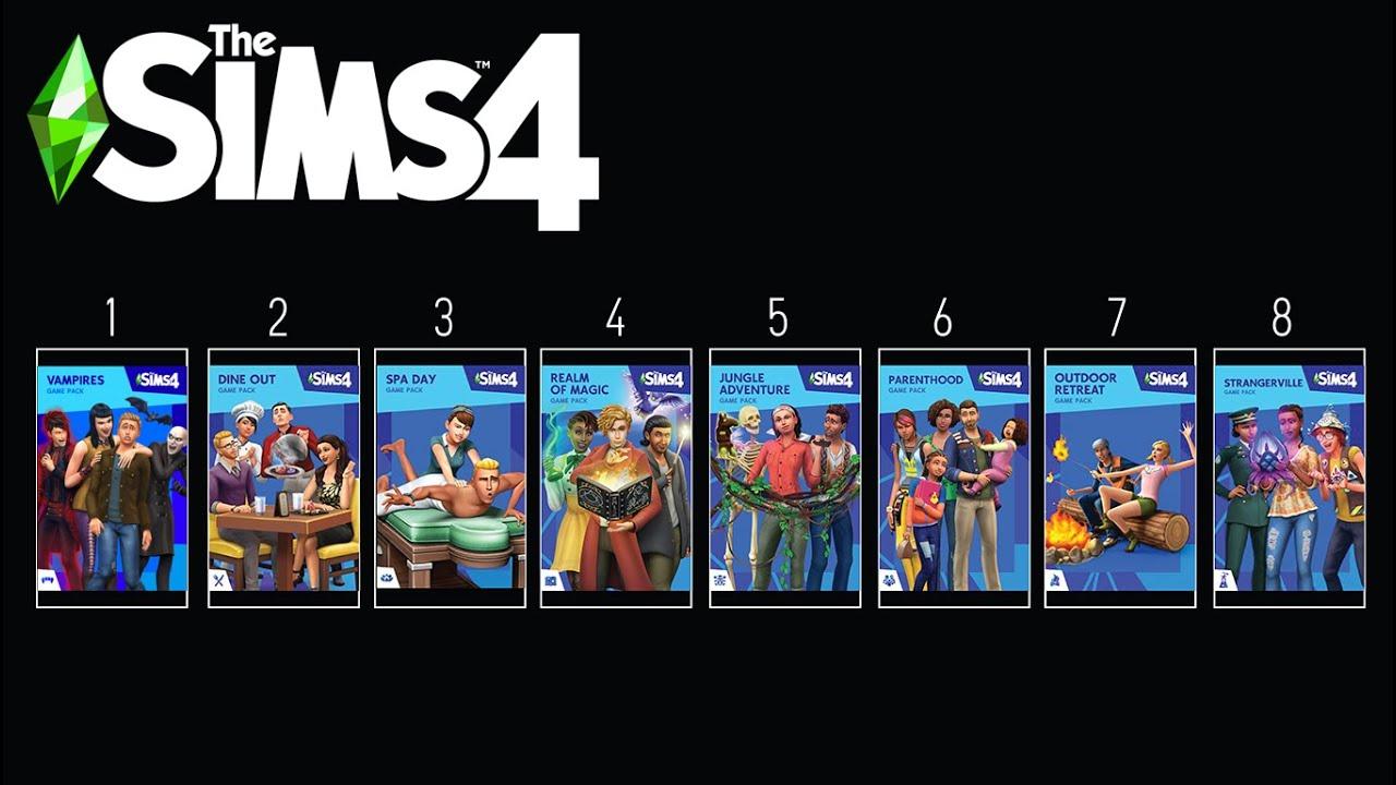 En Kötüden En İyiye: Sims 4 Oyun Paketleri