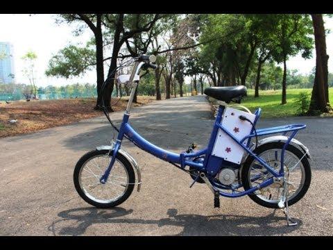 ขาย จักรยานไฟฟ้า-พับได้ ยี่ห้อ ZIPPY 8,500 บาท จัดส่งฟรีทั่วไทย