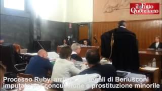 """Ruby, Ghedini: """"La ragazza marocchina non ha avuto rapporti con Berlusconi"""""""