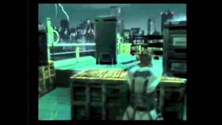 Metal Gear Solid 2 E3 2000 Reveal