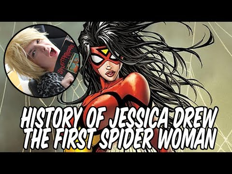 History of Jessica Drew - The first Spider Woman