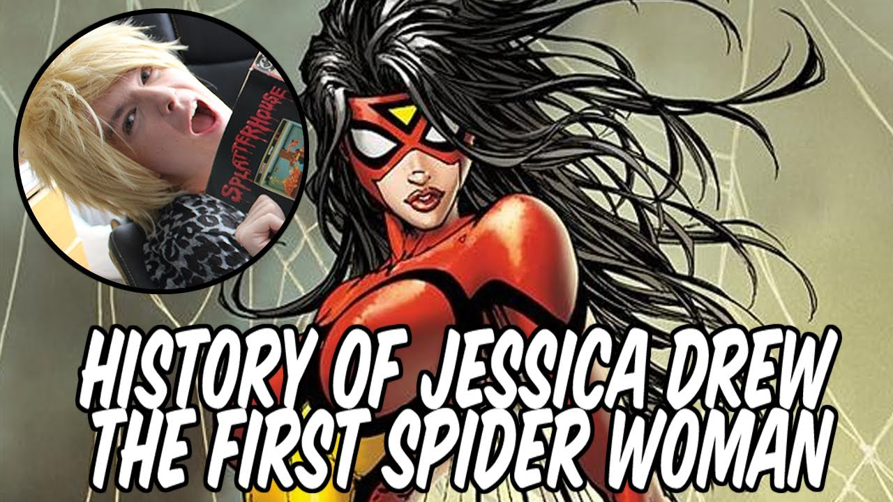from Pierce spider woman jessica drew naked lady