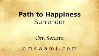 Path to Happiness - Surrender