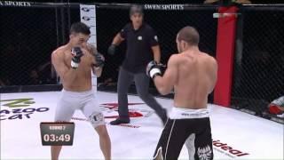 Luta de MMA entre Cemir Silva VS Thomas Almeida - SFT 1 : Standout Fighting Tournament