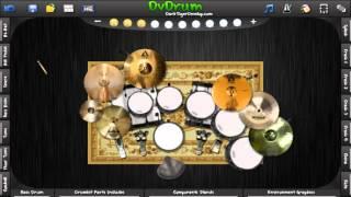 ตามรอยพ่อ - คาราบาว (DrumCover By SirUpper Drummer TH.) Program DVDrums 3