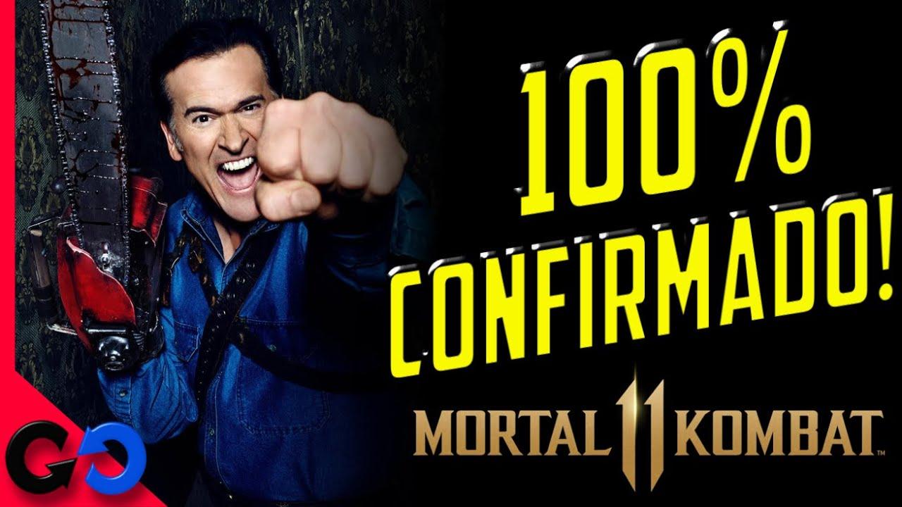 Morta Kombat 11 Ash Williams CONFIRMADO Oficialmente!!  // Ya viene el Kombat Pack 2?